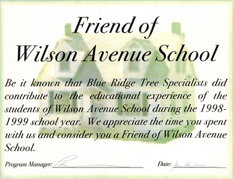 Wilson Avenue School Reference image